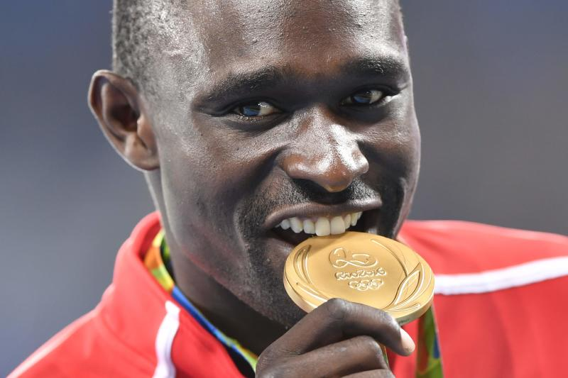Missing in action not music to Rudisha's ears