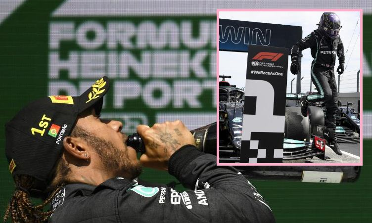 Motor racing: Hamilton stretches F1 lead with victory in Portugal
