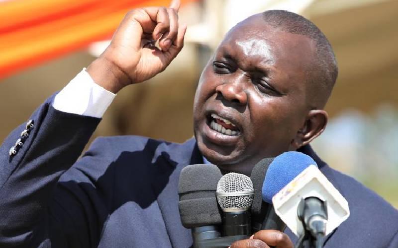 Stop the criticism of Uhuru, Sudi told
