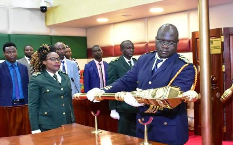 Wahome cries foul as Nyandarua Assembly's mace disappears
