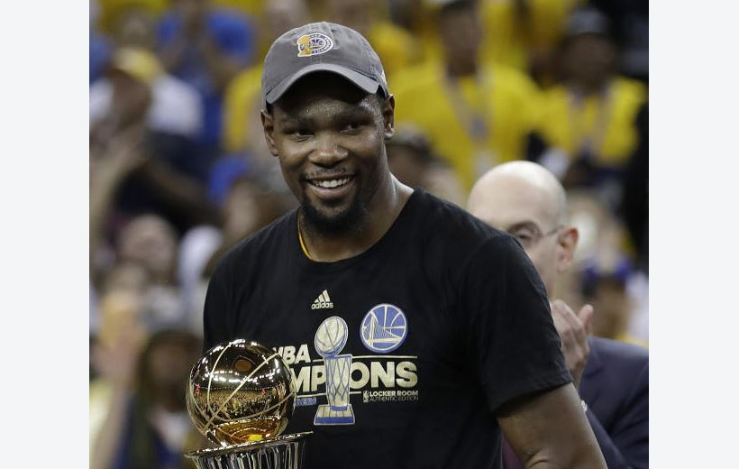 NBA superstar Kevin Durant ruled out for rest of season