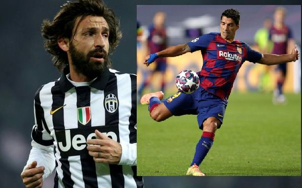 New Juventus coach Pirlo: Suarez unlikely to join Juve because of passport delay