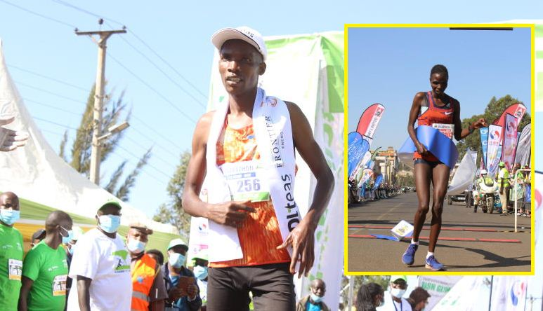 New stars born at Eldoret City Marathon