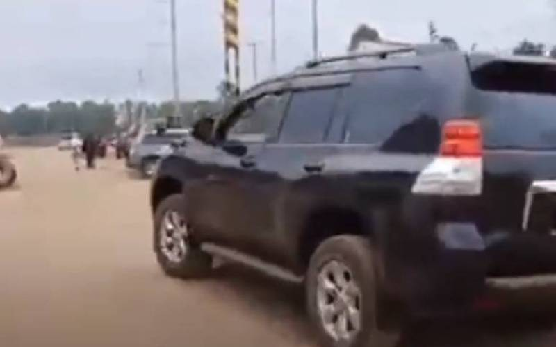 Nothing right with a 7-year-old driving a vehicle on public road