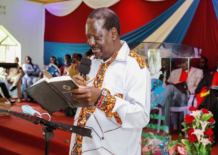 ODM speaks on Butere church function walkout
