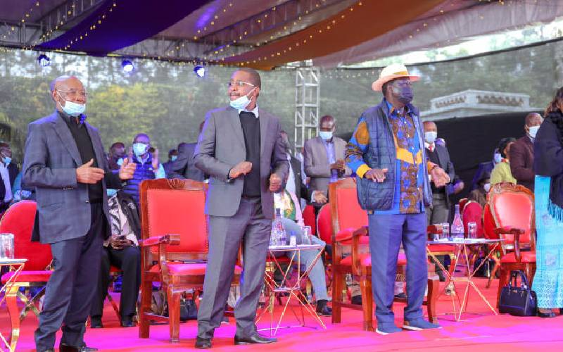 ODM boss crafts new power team for 2022