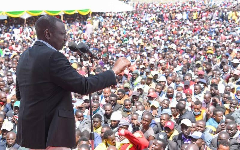 ODM plans to abandon the Handshake, Ruto claims