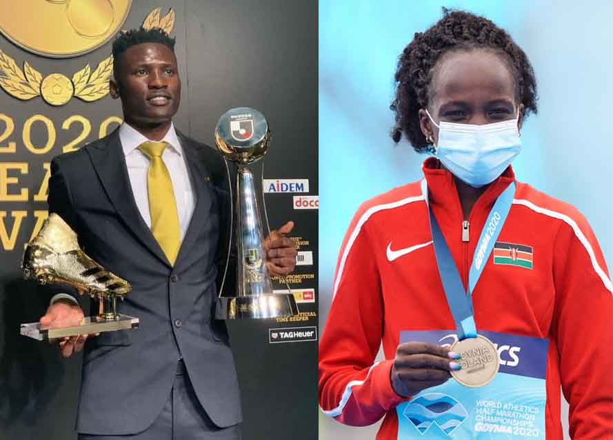 Olunga, Jepchirchir crowned Most Outstanding In 2020 SOYA Awards