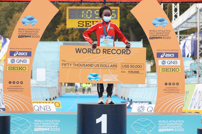 Olympics-bound Jepchirchir says she has come a long way