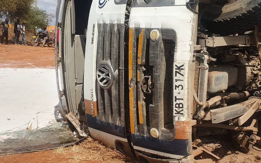 One dies in Mtito-Andei in head-on collision accident