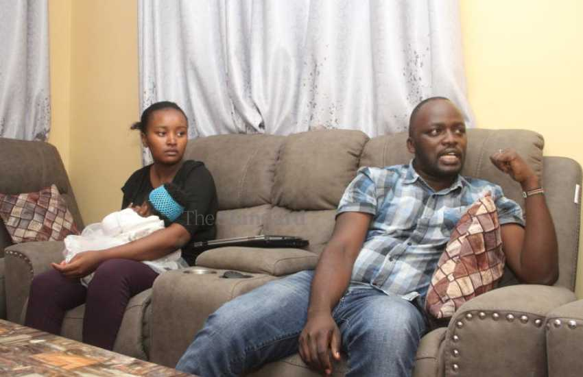 Our baby is fine, says couple stuck in Thika Road night traffic