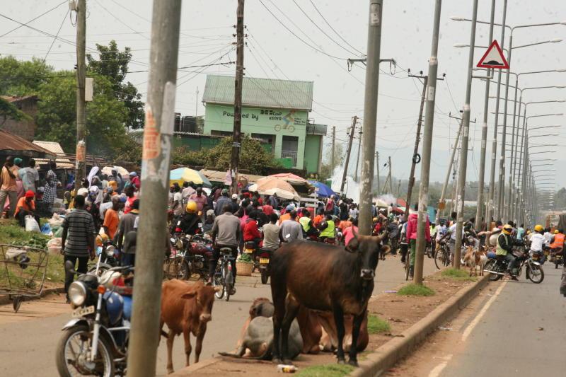 Out goes Kibuye, in comes defiant 'corona market'