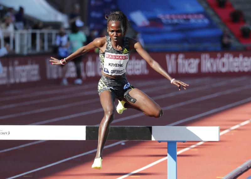 Photos: Kenyans shine at Stockholm Diamond League meeting