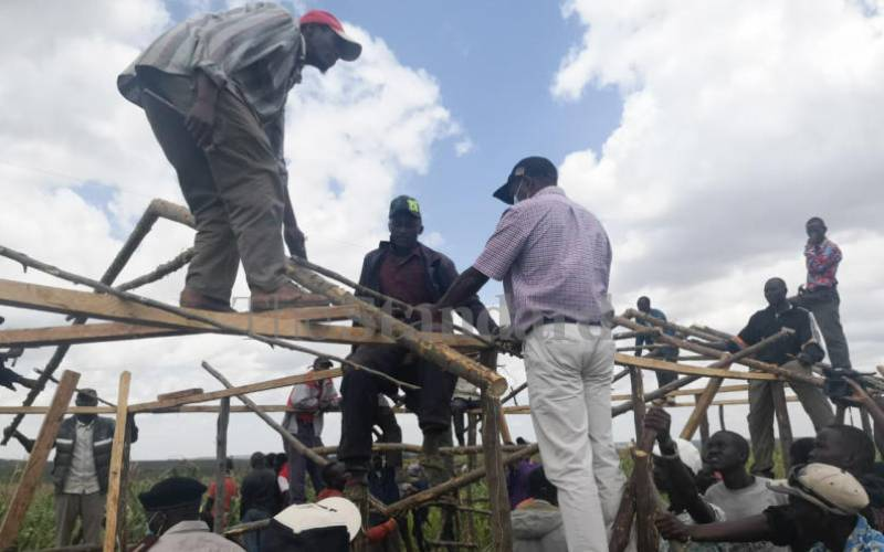 Picking up pieces of life after two months of conflict in Laikipia