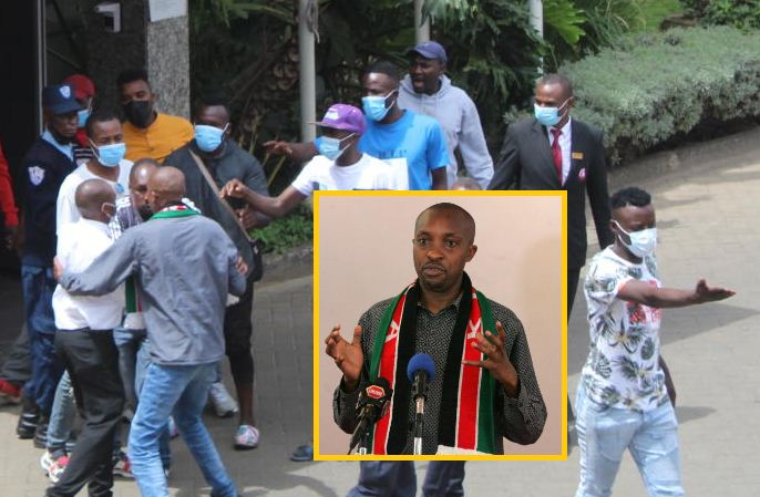 Police called in as hired goons threaten journalist Nyakundi over push for FKF audit