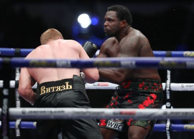Povetkin knocks out Whyte in huge heavyweight upset