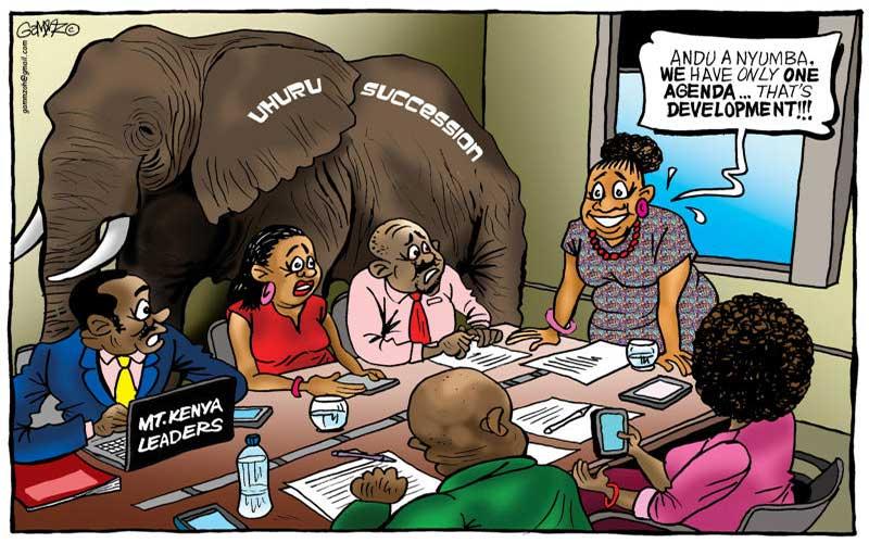 Race to fill Uhuru shoes in Mt Kenya kicks off