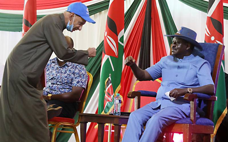 Raila can help the other politicians beat Ruto by not going for presidency