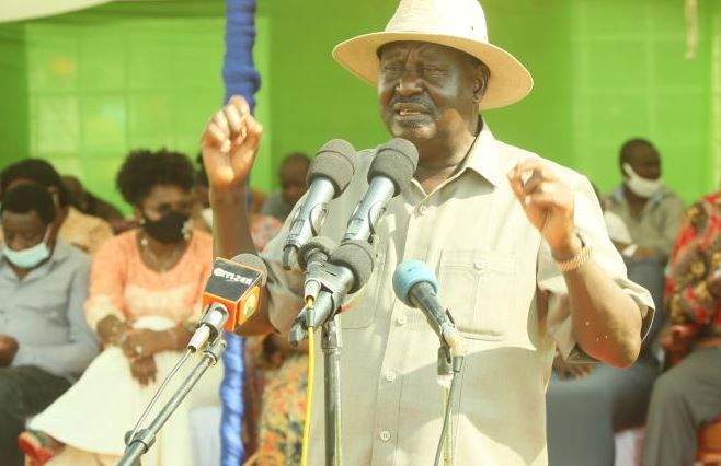 Raila hints at being in 2022 ballot