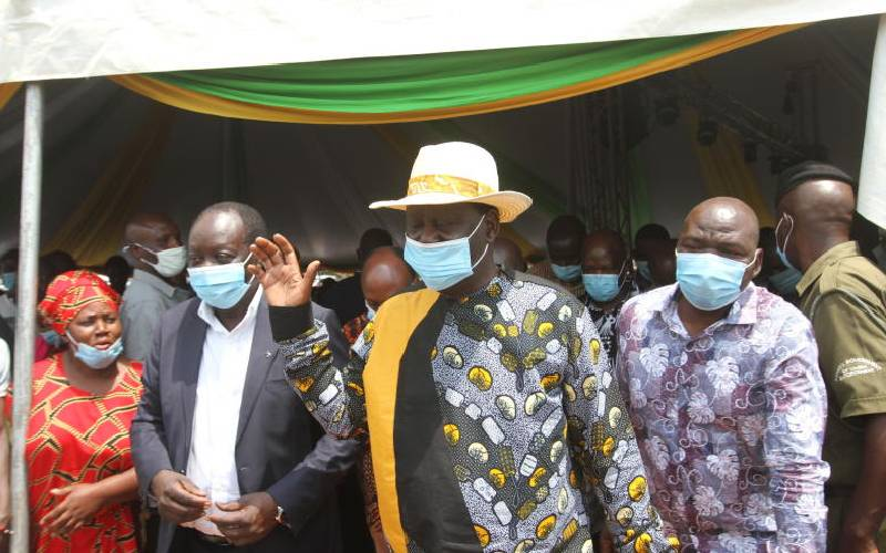 Raila plans future of ODM, hints at working with One Kenya team