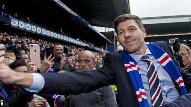 Rangers crowned Scottish champions as Celtic held by Dundee United