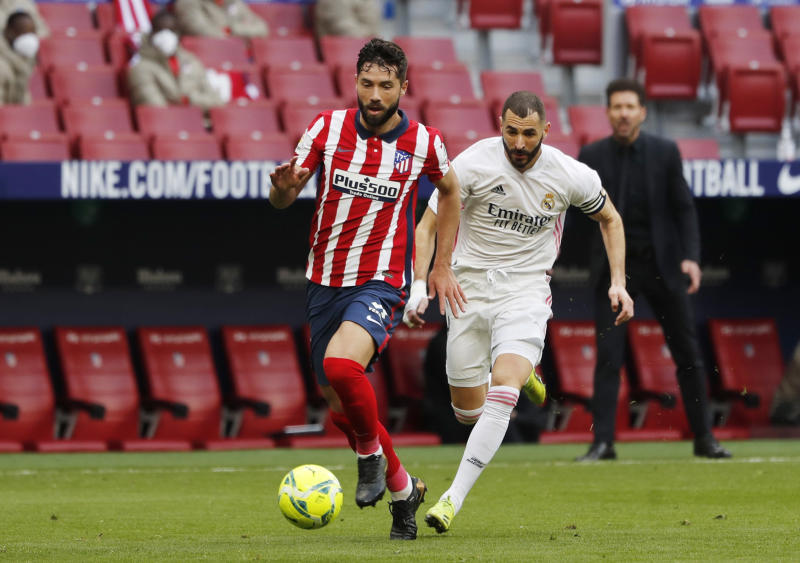 Real Madrid 1-1 Atletico Madrid: Benzema pounces late on to deny Atletico derby win