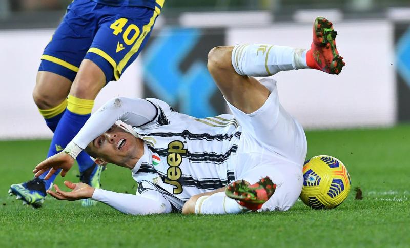 Ronaldo's goal not enough as Juventus drop points again
