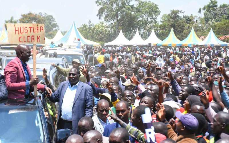 Ruto dares Uhuru, Raila in fresh political battle