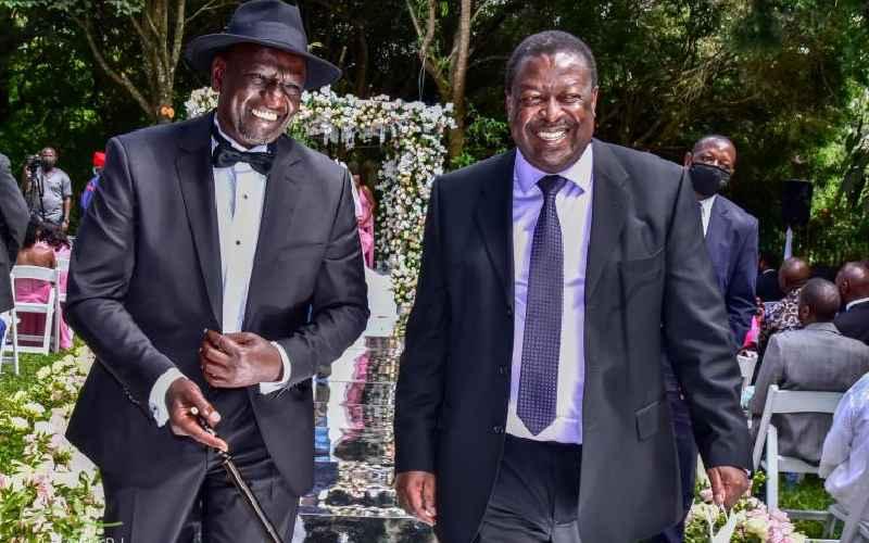 Ruto, Mudavadi storm central in search of votes