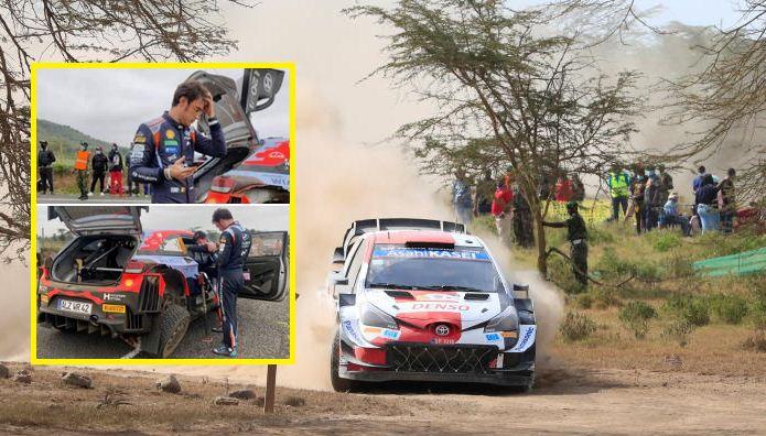 Safari Rally: Sebastien Ogier leads after Neuville retires