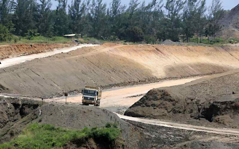 Sh45 billion road will be ready on time despite corona hiatus