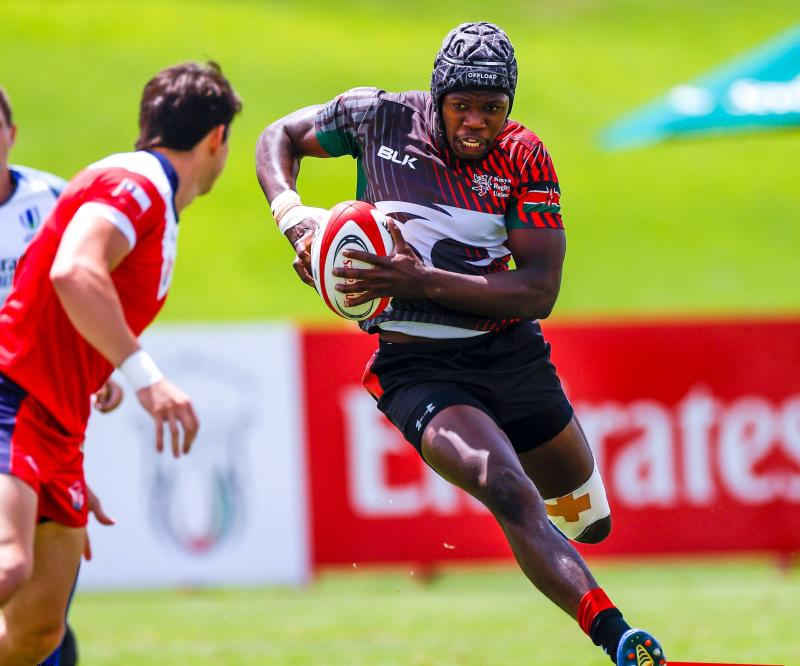 Shujaa finish second at Rugby Africa tournament