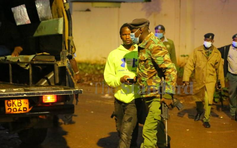 Six police officers arrested drinking in bar during curfew