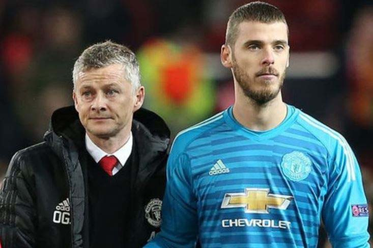 Solskjaer in stand-off with De Gea over Man United future