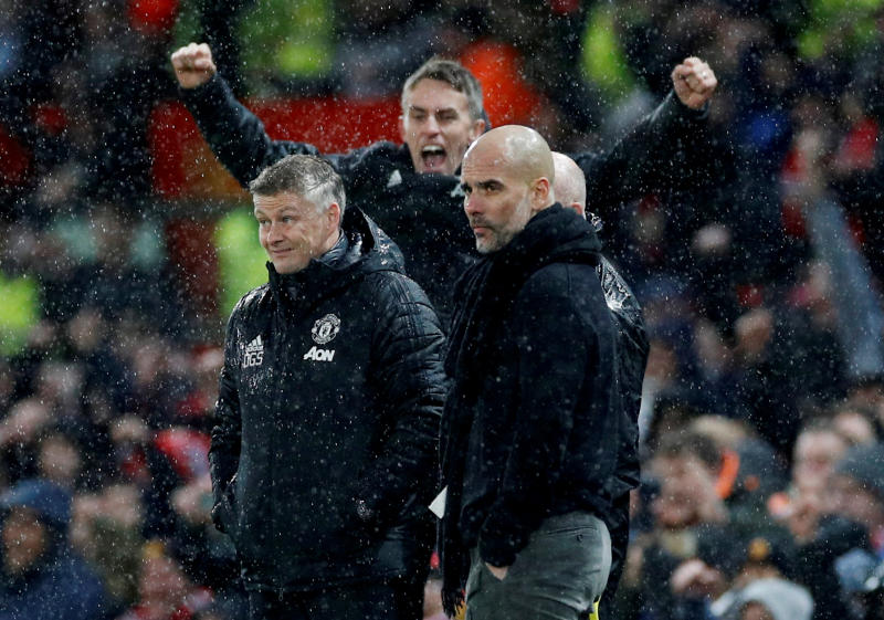 Solskjaer sees solid foundations at United after derby glory