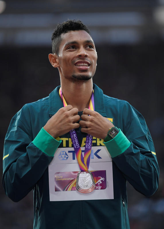 South Africa's Olympic 400 metres champion Van Niekerk tests positive for COVID-19 in Italy