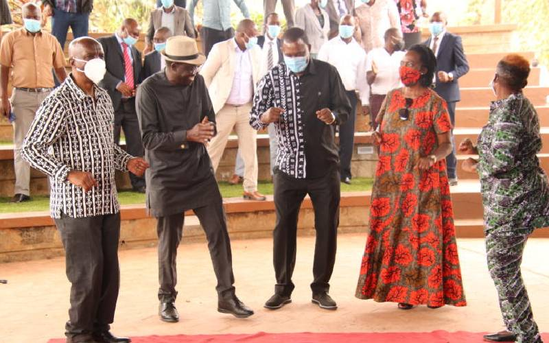 Speaker Muturi, Karua and Kituyi join Kibwana to craft third force