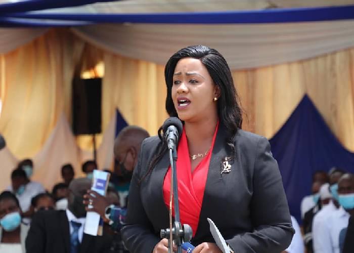 Stop lying to Uhuru, Waruguru tells Mt Kenya MPs