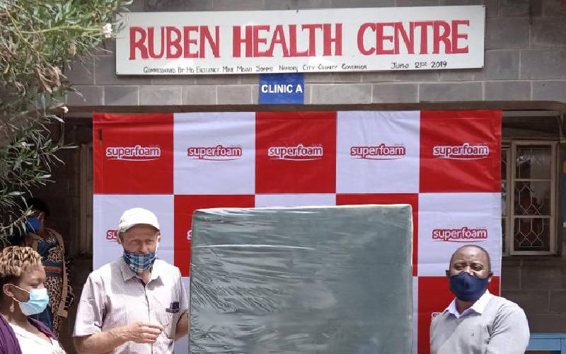 The Nairobi slum hospital that inspired the president to do more