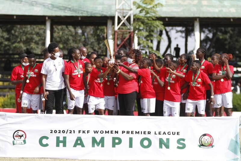 Thika Queens crowned 2021 FKF Women's Premier League champions