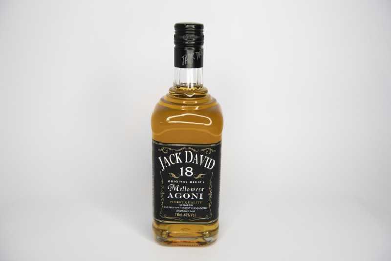 Jack David the fake Jack Daniels sold in e-commerce
