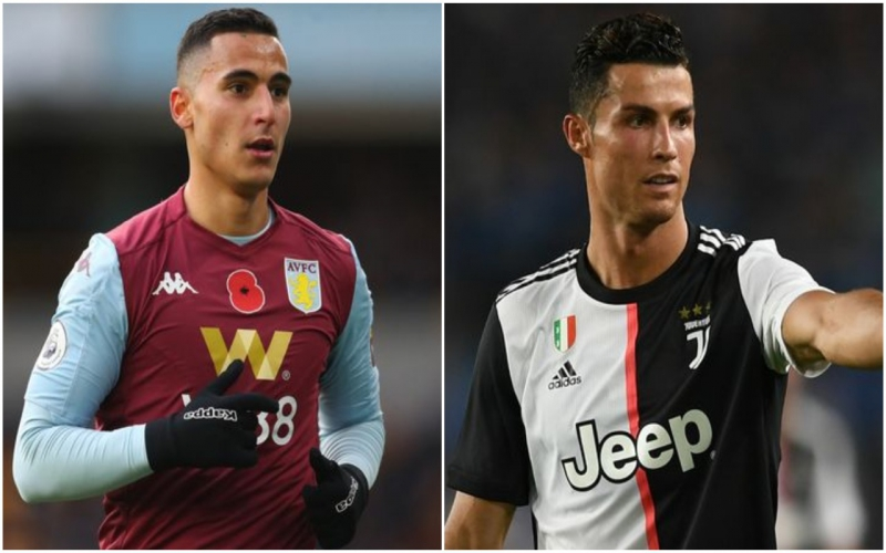 Aston Villa star receives career advice from Cristiano Ronaldo ahead of Man United clash