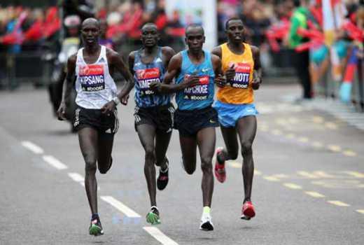 Bounasser wins Vienna marathon as Kimetto drops out