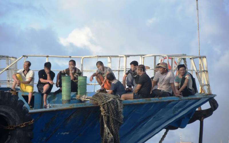 Coast Guard seizes two Chinese vessels