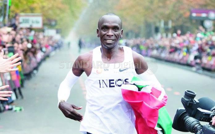 Eliud Kipchoge bags prestigious BBC Sports award