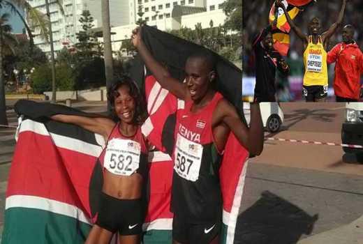 Gathimba, Zakayo earn Kenya bronze medals as Cheptegei wins gold for Uganda
