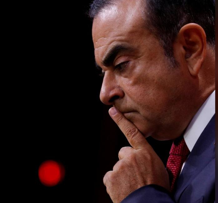 Ousted Nissan chairman refutes claims touching him