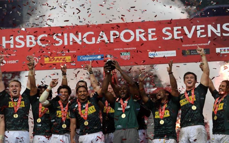 Shujaa finish 13th in Singapore 7s outing