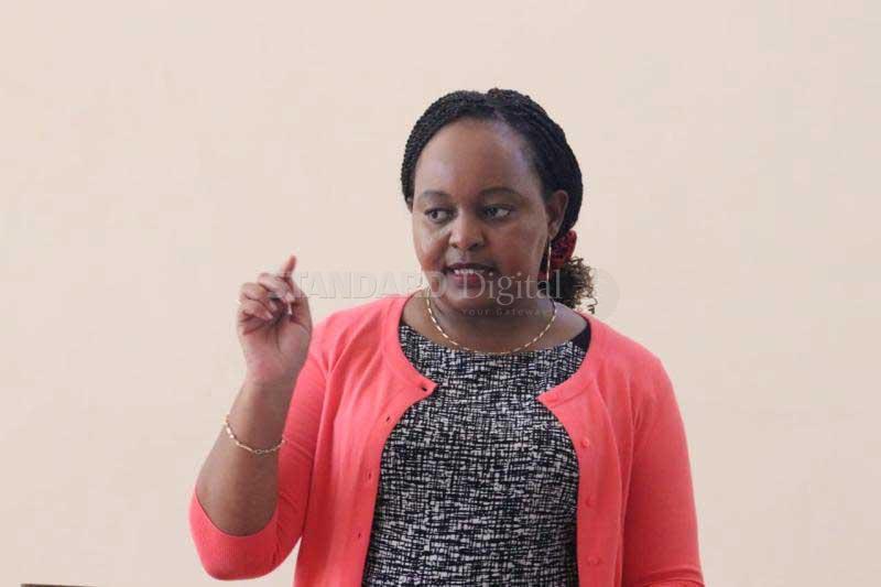 Waiguru rejects ward fund bid