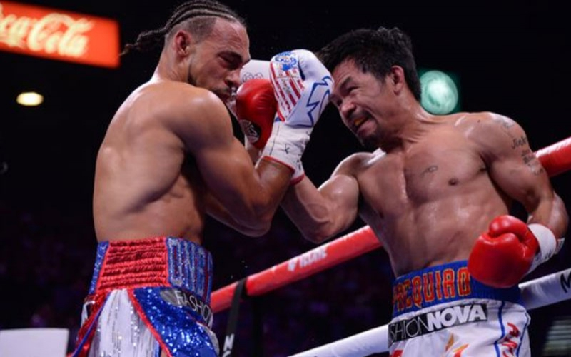 Who won Manny Pacquiao vs Keith Thurman fight? Result from world title clash